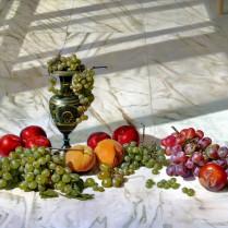 Francisco Trigueros - Bodegon frutas