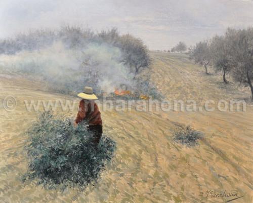 Manuel Barahona - Quemando ramones