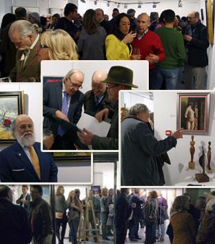 Éxito en la exposición de Inauguración de la Galería