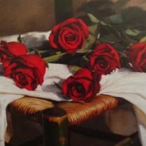 Rosas al atardecer