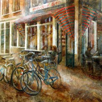 Cafe Eland, Amsterdam 81x100 cm