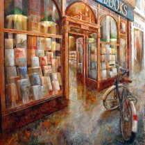 Daunt Books, London100 x 100 cm