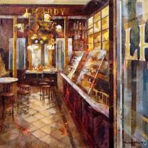 Lhardy Interior 33 x 33 cm