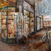 Librairie Delamain 65 x 81 cm