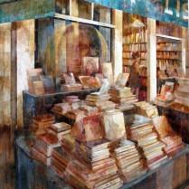 Libreria Mona Lisait de Paris 81x65 cm