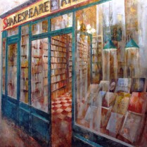 Shakespeare & Co 100 x 100 cm