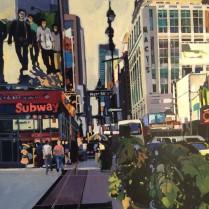 Josep Francés - Calles de New York,92x60cm, 2000E-1
