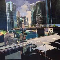 Josep Francés - Chicago,140x140cm, 5000E-1