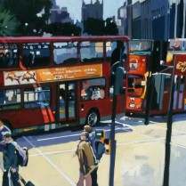 Josep Francés - Bus of London,100x50, 2000E-1