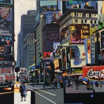 Josep Francés - Calles de NY III, 100x50, 2000E-1