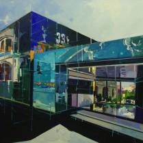 Josep Francés - Edificio de cristal,100x81, 2200E-1