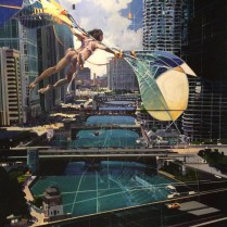 Josep Francés - Icarus in Chicago,240x120, 8500E-1