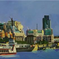 Josep Francés - London Thames,100x50, 2000E