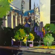 Josep Francés - Notre Dame I, 100x50, 2000E