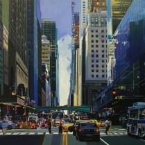 Josep Francés - Obras en Manhattan,200x100cm,5000E