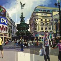 Josep Francés - Picadilly Circus, 92x60cm, 2000E
