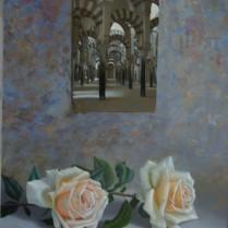 José Antonio Díaz Barberán - rosas para la mezquita 40x30