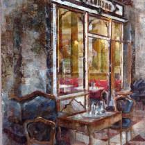 Noemí Martín - Café Florian, Venecia 46 x 38 cm