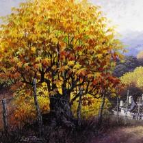 Luis Romero - Camino de Igualeja - 60x30 cm