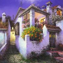 Luis Romero - El balcón 40x40
