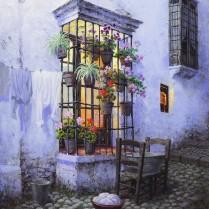Luis Romero - El cierro - 45 x 34 cm