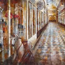 Noemí Martín - Galerie Jouffroy, París 65 x 100 cm
