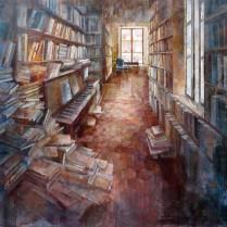 Noemí Martín - Librería Parisina 89 x 116 cm