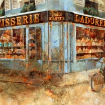 Patisserie Laduree, París 50 x 100 cm