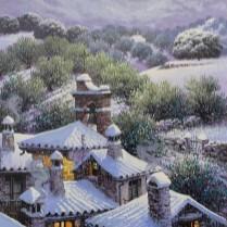 Luis Romero - Pueblo Nevado 60x40