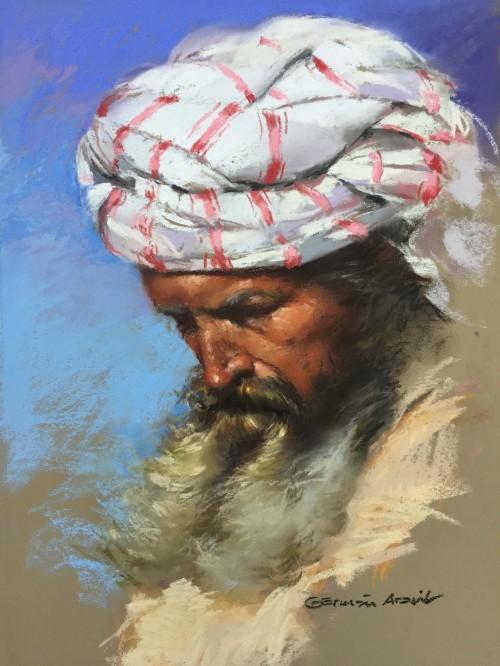 Germán aracil Cabeza árabe 1