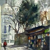 José Ysmér Le Sacré Couer 26x37