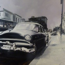 Albert Sesma - Cuba. 100 x 81 cm. Oleo sobre lienzo