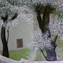 El jardín 80x100