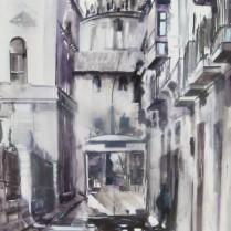 Albert Sesma - Granada antigua 100x70