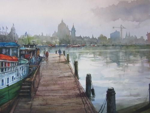 José Ysmér - Embarcadero de Amsterdam