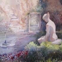 José Ysmér - jardines del museo de sorolla