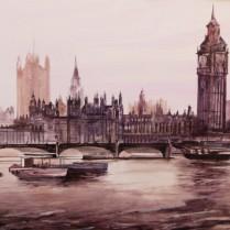 Albert Sesma - Londres. 100 x 81cm