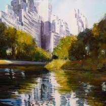 Albert Sesma - Manhattan. 100 x 73cm. Acrilico lienzo.