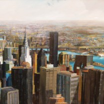 New York. 150 x 75 cm