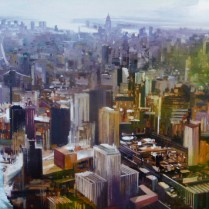 Albert Sesma - New YorkII 122 x 100