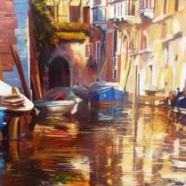 Albert Sesma - Venecia 100x81